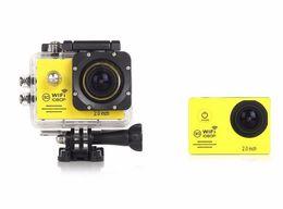 Wholesale Used Pro Video Cameras - SJ7000 Action Camera WiFi 1080P Full HD 2.0 LCD HD 30m Waterproof DV video Sport Extreme Go Pro Sport Recorder 6PCS LOT