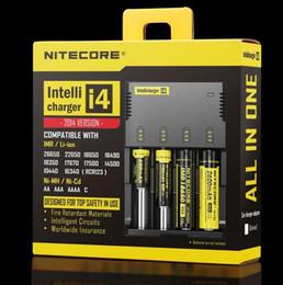 Chargeur de cigarette électronique universel en Ligne-Nitecore Universal charger e cigarette cigarette électronique chargeur de batterie pour 18650 18500 26650 D2 D4
