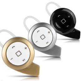 Mini auricular a8 online-A8 Mini Auricular Bluetooth inalámbrico en la oreja Auriculares Blutooth Estéreo en la oreja Auriculares Stealth para iPhone Samsung Smart Phone