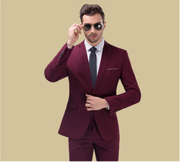 Wholesale Occasion Jackets For Men - Wholesale- 2017 New Fashion Mens Blazer Outerwear Jacket Slim Fit Casual Men Blazers Jacket For Men Formal Occasion
