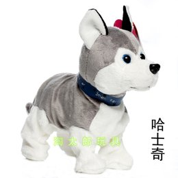 Wholesale Toy Birds Sing - June 1 children's toys acoustic electric dog electric plush toys singing movement mechanical toy dog