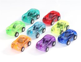 Wholesale Mini Pull Back Car - Hot Sale Candy Color Plastic Mini Pocket Car Pull back Car Model Kids Toys For Boys Educational Best Christmas Gift for Child