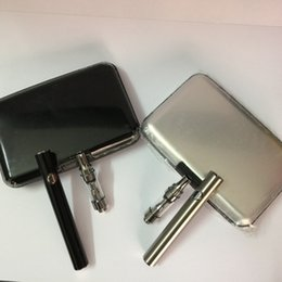Wholesale E Cigarette V9 Batteries - Authentic Amigo Liberty V1-V9 disposable thick oil cartridge Kit E Cigarette 380mAh preheat Battery glass tank kit with Wireless USB charger