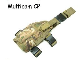 Wholesale Drop Leg Holsters Bags - Tactical Drop Leg Pistol Holster Pouch Bag hunting