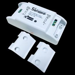 Gros-Itead Sonoff Wifi Télécommande Smart Light Interrupteur Smart Home Automation / Intelligent WiFi Centre Smart Accueil Contrôles 10A / 2200W ? partir de fabricateur
