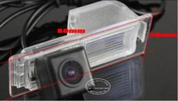 Wholesale Buick Reverse Camera - For Buick GL8   Firstland Car Reverse Back Up Camera Parking Camera HD CCD RCA NTST PAL   License Plate Light OEM