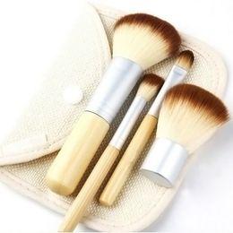 Wholesale Hair Brusher - 5pcs set Makeup Brushes Superior Professional Soft Cosmetics Make Up Brush Set Woman's Kabuki Brushes kit Makeup Brusher