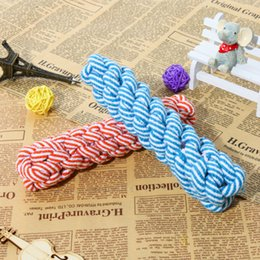 Wholesale Handmade Cat Toys - Pet Supplies New Dog Toys Handmade High Quality Cotton Rope Hand-woven Cats and Dogs Toys Molars Corn Cobs