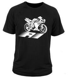 Wholesale Yamaha R1 Red White - 2017 new summer fashion t shirt o-neck 100% cotton comfortable Yamaha r1 man t-shirt S-2XL free shipping