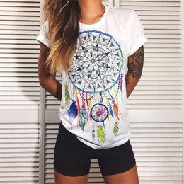 Wholesale Designer Casual Shirts Wholesale - Wholesale-European t shirt for women Summer 2016 Vibe With Me Print Punk Rock Fashion Graphic Tees Women Designer Clothing