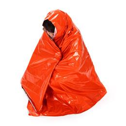 Argentina 210 * 130 cm Espesar Calentamiento Manta de Emergencia Escalada Kits de Supervivencia Al Aire Libre Equipo de Rescate Herramienta de Supervivencia de Emergencia Caza supplier blanket kits Suministro