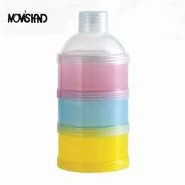 Wholesale Baby Food Containers - 3 Layers Portable Baby Milk Powder Formula Storage Boxes Food Storage Container