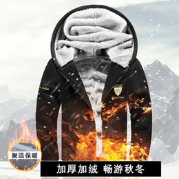 Wholesale Cheap Hooded Men Jacket Coat - Wholesale- TG6126 Cheap wholesale 2016 new Add hair thickening cotton-padded clothes men quilted jacket winter coat