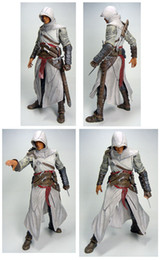 Wholesale Altair Neca - NECA Assassin's Creed Altair Ezio Action Figures Game Character Fan Collection Model Gift For Children Toys