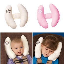 Wholesale Shape Banana - Banana shape Baby Head protect pillows Soft polyester filling Toddler Baby Car Safety Seat Pillow For 4-15 months nice gifts for baby