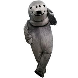 Wholesale Sea Lion Costumes - Sea lions, walrus Mascot Costume Cartoon Character Adult Size Longteng (TM) 034