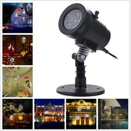 Wholesale Laser Light Projection - New LED Projector Light 14 Pattern Waterproof Landscape Lighting Spotlight Laser Projection Lamp Halloween Christmas Fairy Light