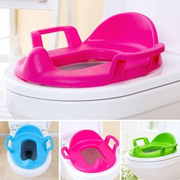 Wholesale Soft Pads Handle - Wholesale 1 Pcs Handles Toilet Seat Potty Cushion Baby Toddler Padded Soft Children Training Kids Safety