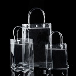 Wholesale Clear Wine Bags - Wine Bottle Cooler Chiller Bag Cosmetics Bags Transparent PVC Carrier Ice Chilling Cooling Party Gift Fun Collection Bag