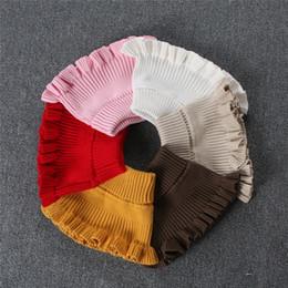 bavaglini per bambini a maglia Sconti Bavero invernale per bambini Silenziatore in cotone per bambini Bavaglino morbido per bambini / ragazze Sciarpe per bambina. Sciarpa lavorata a maglia