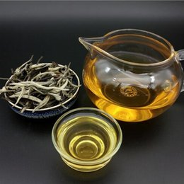 organic leaf Promo Codes - 2018 Rushed Limited White Tea Qs Standard Tea half kg White Leaf Peony Moonlight Beauty Premium Loose Cheap Price 500g Organic Puer