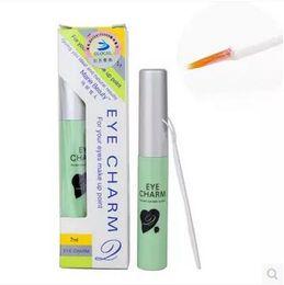 Wholesale Eyelash Glue Marie Beauty - Marie Beauty Eye Charm 7ml Makeup Glue for False Eyelash Double Eyelid Lash Glue Eyelash Adhesives CCA5709 500pcs