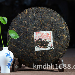 Wholesale Antique Sweets - Made in 2002 ripe pu er tea,oldest puer tea,ansestor antique,honey sweet,dull-red Puerh tea,Green Food freeshipping