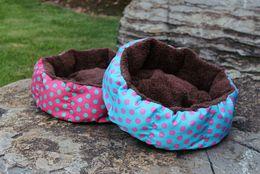 Wholesale Cozy Plush Wholesale - 50pcs Soft Cat Dog Pet Mat Blanket House Cozy Sleep Warm Plush Bed free shipping