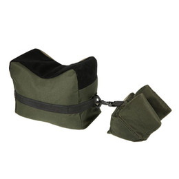 Wholesale Portable Benches - Portable Shooting Front & Rear Bench Rest Bags Rest Range Target Tactical Bench Unfilled Stand Hunting Accessories