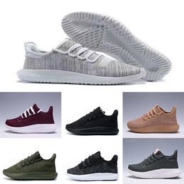 Wholesale White Shadow Box - (with box) Tubular Shadow men and women Running Shoes Knit Core Black White Cardboard Tubular Shadow 3D 350 Boost Training Shoes eur 36-45