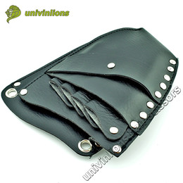 Wholesale Pouch Manufacturers - airdressing manufacturers 16*21 cm leather barber scissor bag salon hairdressing holster shear pouch case hairdresser with shoulder belt ...