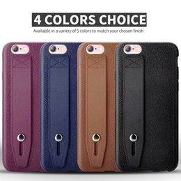 Wholesale Iphone5 Vintage Case - Luxury Vintage Business imitation Leather Phone Case Multifunction Soft TPU Cover Pouch with Stand for iphone 7 7plus iphone5 6 6splus cases