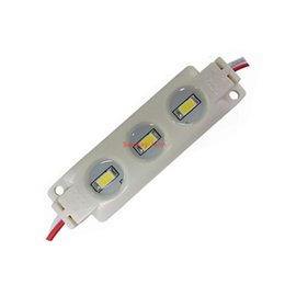 Wholesale Led Modules Wholesale - 12V SMD 5730 LED Modules 3LED 1.5W IP67 Waterproof Injection Module light for channel letters Signs Red Green Blue warm cool white