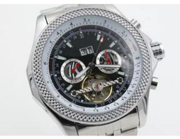 Wholesale Cheap Mechanical Wristwatch - 2017 new good hot Silver date Promotion cheap Selling fashion new Mechanics brand men watch stainless steel uxury wristwatch men's Watches