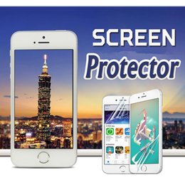 Wholesale Iphone Lcd Screen Protectors - For iPhone X Transparent Front LCD Screen Protector Film Guard With Cloth Film For iphone 8 7 plus 6 6s Se 5 Samsung Note 8 S8 Huawei P10