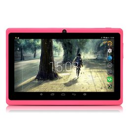 "Wholesale Dual Camera Capacitive Q88 - New Arrival! iRULU 7"" Q88 Tablet PC Android6.0 A33 8G 16G Capacitive Screen WIFI MID Quad Core Dual Camera Kids Tablet PCs"
