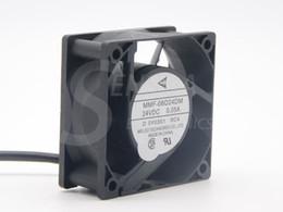 Wholesale 24v Cooler Fans - Brand New Melco MMF-06D24DM RC4 For Mitsubishi inverter fan 6025 60m 6cm 24V 0.05A server cooling fan