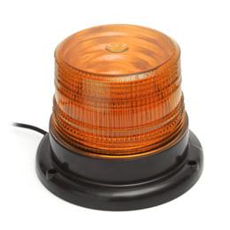 Wholesale Cigarette Lighters Led Lights - Car Truck LED Emergency Strobe Light Magnetic Warning Beacon Lights with 12v Cigarette Lighter Plug
