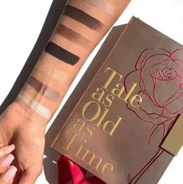 Wholesale Eye Shadows Primer - Tale as Old as Time 16 color eyeshadow with eye Primer Powder Eyeshadow Blush Makeup Cosmetic Palette Eye Shadow Palette
