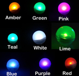 Wholesale Led Berries - 600pcs lot Free Shipping Fairy LED Pearls Wedding Decoration 2CM Mini Colorful Small Led Berries Waterproof Floating LED Lights