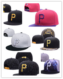 Wholesale Cap Pirates - New MLB Hat Embroidered Pittsburgh Pirates Baseball Cap Adjustable Cap for Men Designer Women with Sun Protection Away Sweat Valentine Gift