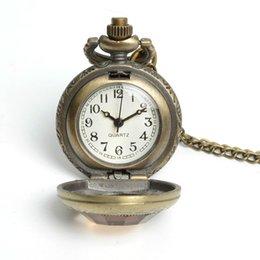 Wholesale Pocket Watch Alice - Wholesale-2016 Real Glass Reloj De Bolsillo Watches Hot Drink Me For Wishing Bottle Pocket Watch Alice In Wonderland Necklace