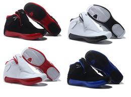 Wholesale Cheap Goods Sale - Wholesale cheap Basketball shoes retro 18 men shoes blue sport sneaker shoes,For hot online sale free shipping good quality