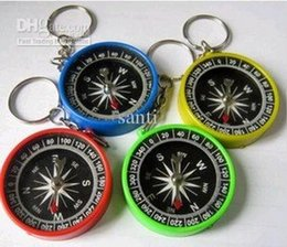 Wholesale Mini Compass Keychain - High accuracy Stability American keychain compass Mini compass compass pocket