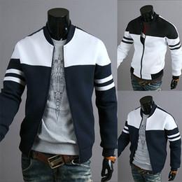 Wholesale Winter Applique Designs - New Design Fashion Casual Outwear Men Jacket Coat Winter Hot Sale White Patchwork Slim Fit Male Jackets Chaqueta de los hombres