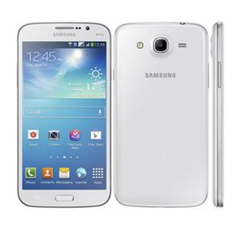 Wholesale Mega I9152 - Original Unlocked Samsung Galaxy Mega 5.8 I9152 Dual core 8G ROM 1.5G RAM Dual Sim Refurbished cellphone with DHL Free