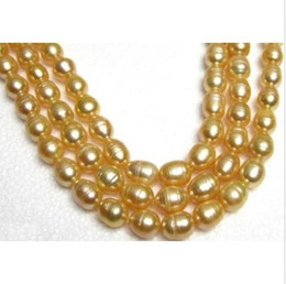 """Wholesale Huge Golden South Sea Pearls - CHARMING 35"""" HUGE 11-13MM NATURAL SOUTH SEA GOLDEN PEARL NECKLACE 14K YELLOW CLA"""