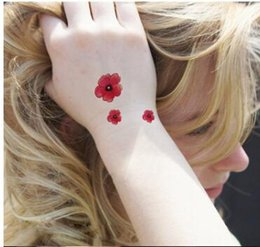 Wholesale Neck Ring Wrist - NEW flowers temporary tattoos animals ring necklace electrocardiography temporary tattoos