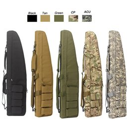 Wholesale Airsoft Combat - Outdoor Sports Tactical Assault Combat Camouflage Fishing Bag Photography Pack Tactical Rifle Airsoft 100cm 120cm Long Bag NO11-803