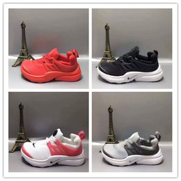 Wholesale Girls Navy Flats - Children's Shoes Eur 24-35 Presto Ultra Olympic low cut BR QS Boys Girls Running Shoes NAVY RED GOLD Fashion Casual Walking Sports Shoe Size